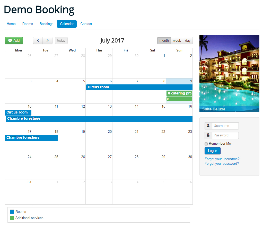 demo booking1